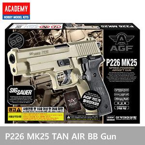 ACADEMY-P226-MK25-TAN-Ver-Airsoft-Pistol-BB-Toy-Gun-Replica-Full-Size-Non-Metal
