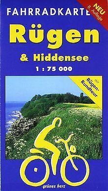 Rügen & Hiddensee 1 : 75 000 Fahrradkarte: Mit Rügen-Run... | Buch | Zustand gut