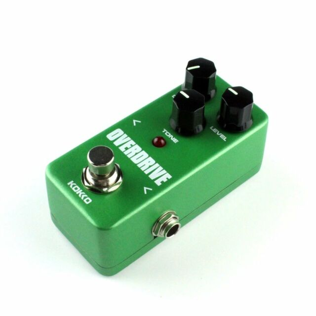 Mini Vintage Overdrive Guitar Effect Pedal Overload Guitar Stompbox FOD3 =