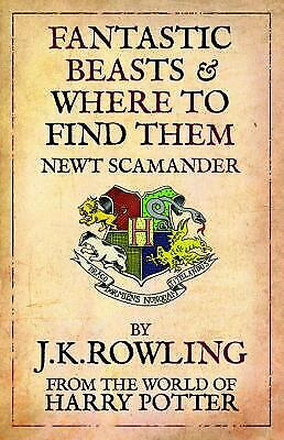 Fantastic beasts and where to find them library book