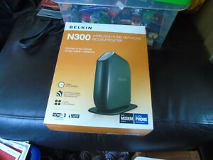 BELKIN N300 WIRELESS N Router MODEM