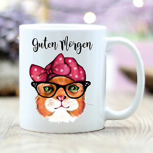 T192-Wandtattoo-Loft-Coffee-Mug-034-Good-Morning-034-with-Dashing-Cat-Checkers