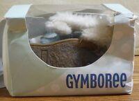 Gymboree Baby Infant Boots-light Blue Suede/ Faux Fur -size 04/12-15 Months