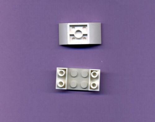 45 ° Lego--4871 Weiß 2 Stück Schrägstein--Wanne--4 x 2 Invertiert-Negativ