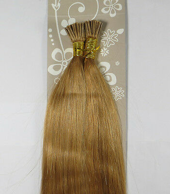 "AAA 18""-32"" Remy Human Hair Straight Stick I-Tip In Extensions 100s 50g-100g"