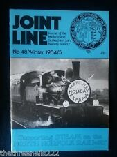 JOINT LINE - Midland & Great Northern Joint Railway Society - # 48 - WINTER 1984