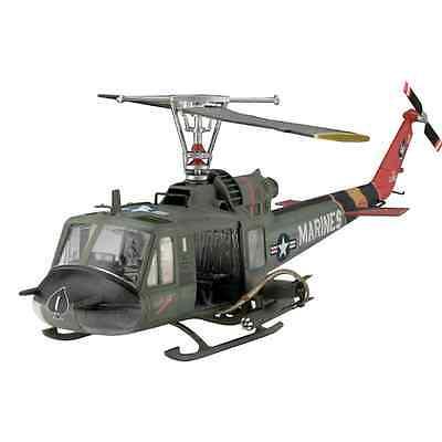 Revell 1:48 Bell Uh-1 Huey Hog Helicopter Model Kit Set (04476)