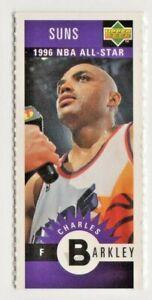 nba UPPER DECK MINI 1996 # m65 SUNS CHARLES BARKLEY NBA CARDS