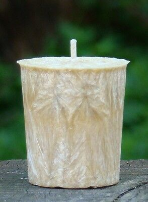 CEDAR WOOD /& SAFFRON Scent Votive Candles Mozzie Repell 8pk 160hr//pk CITRONELLA