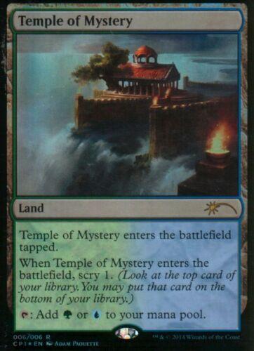 Temple of Mystery FOIL EX M15 Clash PackMagic MTG