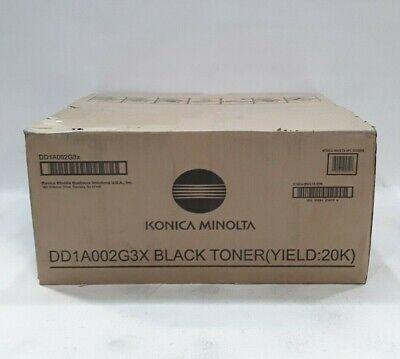 Konica Minolta bizhub 25E Black Toner Cartridge DD1A002G3X TN-219