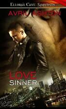LOVE THE SINNER by Avril Ashton EROTIC GAY CONTEMP SUSPENSE  6/14 ~  5 STARS!!!