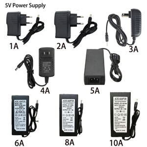AC-DC-5V-1A-2A-3A-5A-6A-8A-10A-Power-Supply-Adapter-US-EU-Plug-LED-Strip-light
