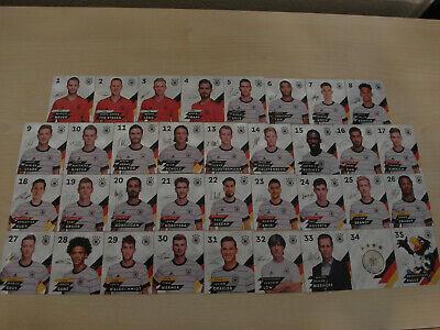 Rewe DFB EM 2020 aussuchen aus allen 35 Glitzer Sammelkarten