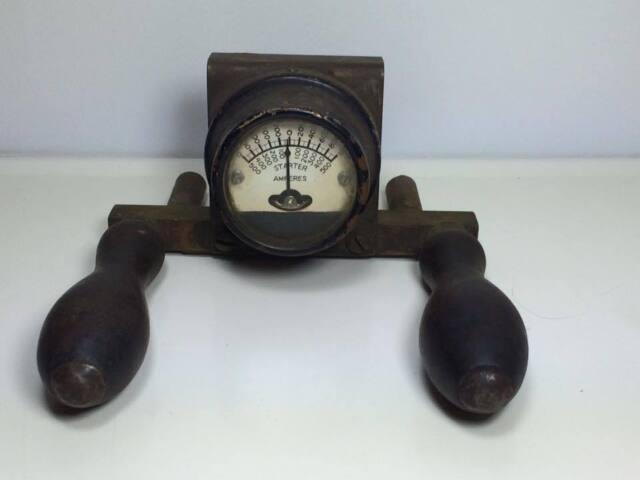 Vintage Vanport Products Ltd. Battery Starter Amperes 1930's tester