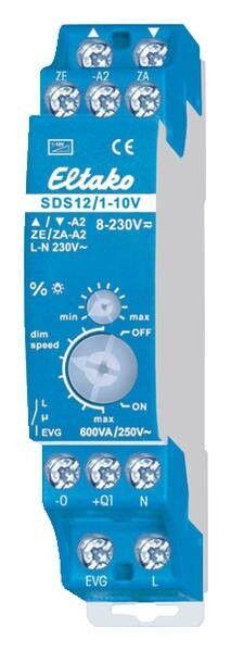 Eltako SDV 1-10VS12 1-10-Steuer-Dimmschalter für EVG | Clearance Sale