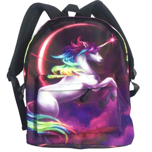 Unicorn Backpack 16 Inches Casual Girls Fashion Travel School Bag