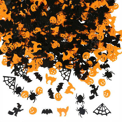 Halloween Decorative Confetti,Ghost Pumpkin Bat Witch Spider Throwing Confetti for Halloween Party Decorations