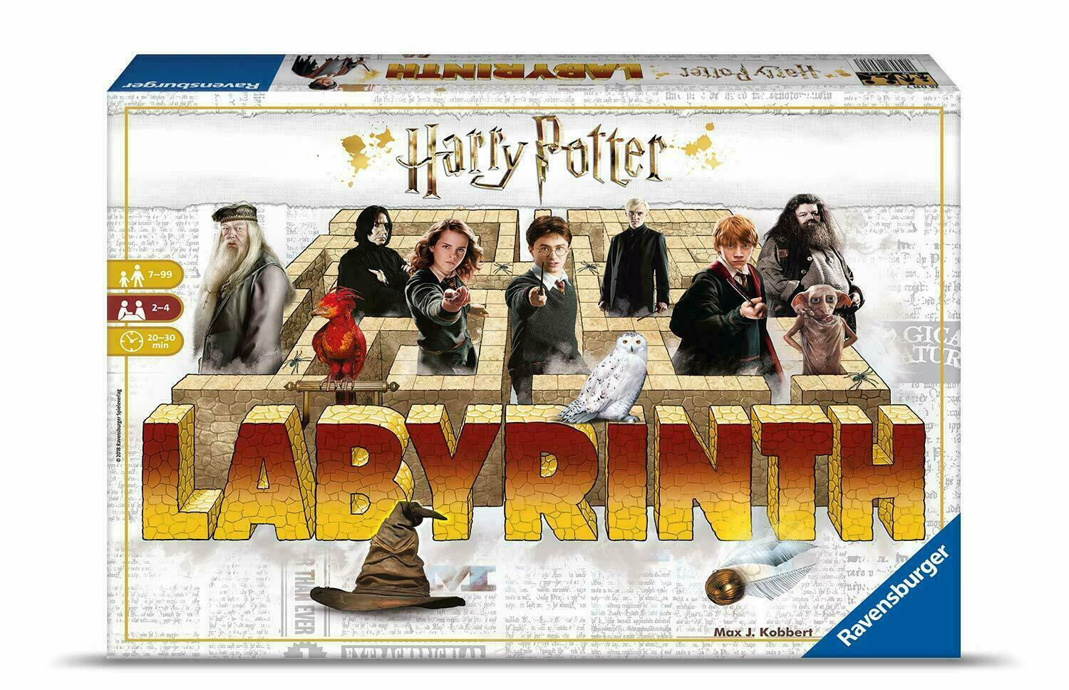 RavensburgerHarry Potter Labyrinth Game - The Maze Game with Moving Walls