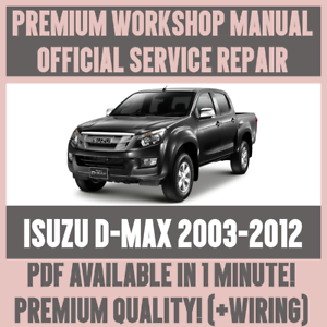 Superb Workshop Manual Service Repair Guide For Isuzu D Max 2003 2012 Wiring Digital Resources Antuskbiperorg