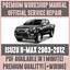 Cablaggio * Manuale Officina Servizio /& Riparazione Manuale per ISUZU D-MAX 2003-2012