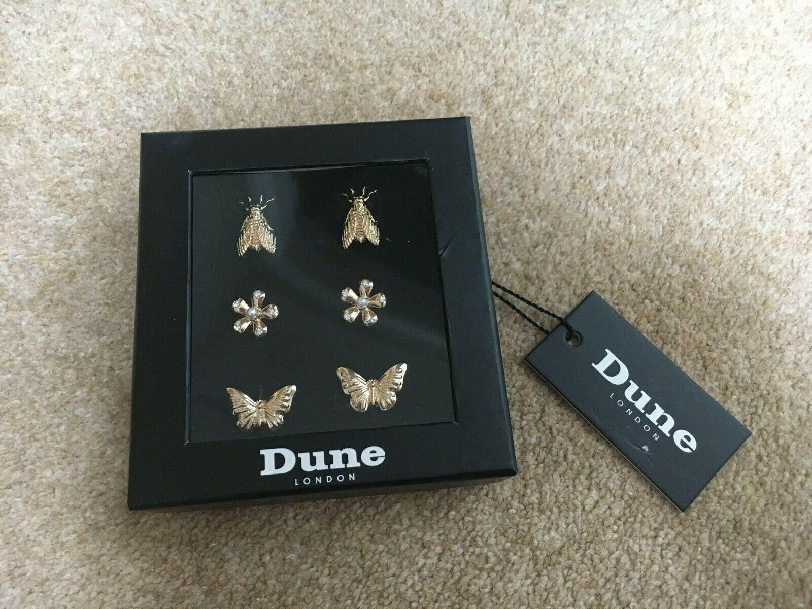 ! nuevo! precioso Conjunto De Duna zapato encantos, Oro Mariposas Flores Serendipity,! Regalo!