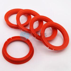 4 x anelli di centraggio 70,0-56,6 mm-Rial Anzio ALUTEC-OPEL CHEVROLET-z33-NUOVO