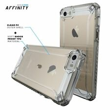 online store 7ae49 aee57 iPhone SE Case Clear Poetic Affinity Soft Shock Proof TPU Drop Protection  Cover