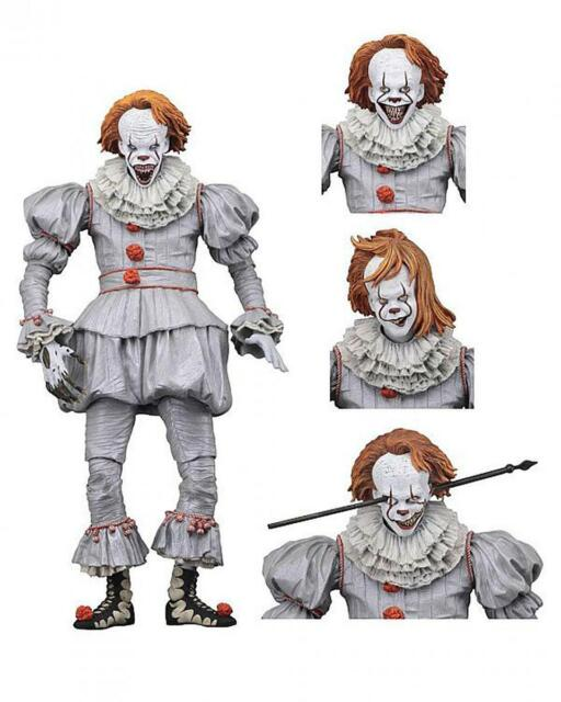 """Stephen Kings Es 7"""" Ultimate Actionfigur Pennywise 2017"""