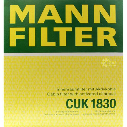 Original Homme-Filtre Charbon Actif Filtre Pollen Filtre Intérieur Filtre CUK 1830