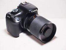 500mm lens =750mm on CANON DIGITAL 7D 70D 50D for Wildlife Photography 760D EOS