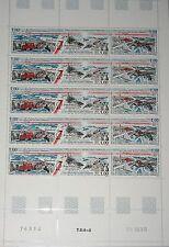 TAAF FSAT 1997 Maury 227A 368-70 232 SHEET Polarexpedition Polar Expedition Base