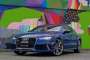 2017 Audi RS7 4.0T performance