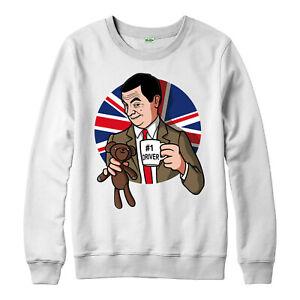 Die besten Fahrer Pullover, Lustig Mr Bean Teddy #1 Fahrer Meme UK Flagge Geschenk TOP