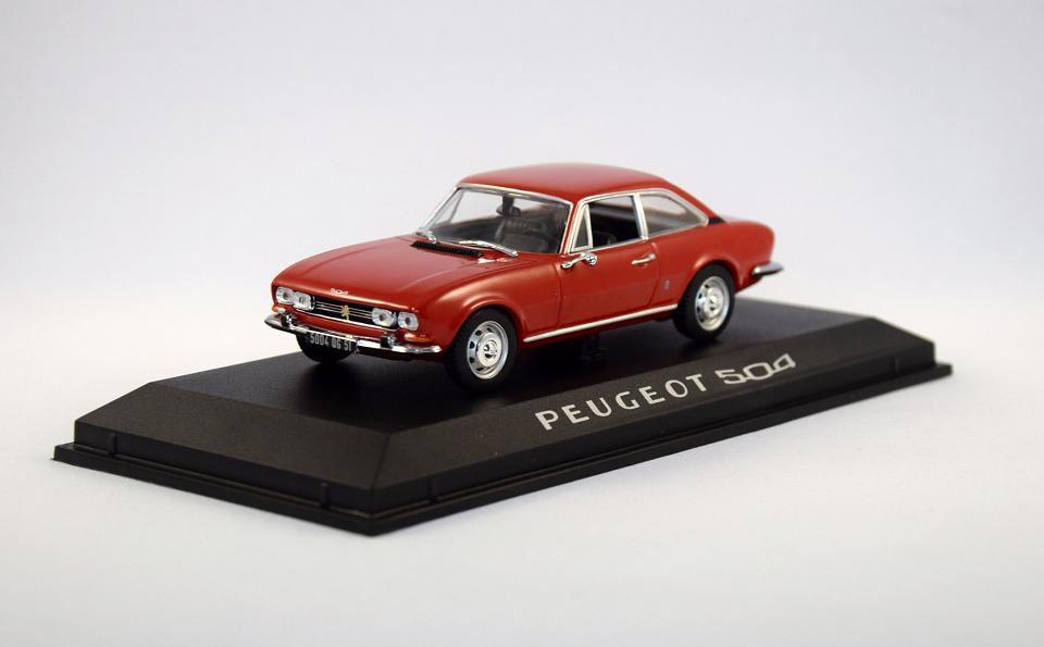 Peugeot miniature 504 coupe 1 43 NOREV