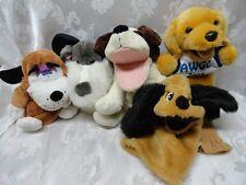 Hand Puppets Dogs Golf Cover Russ Barking Puppy Collie Sheep Golden Retriever