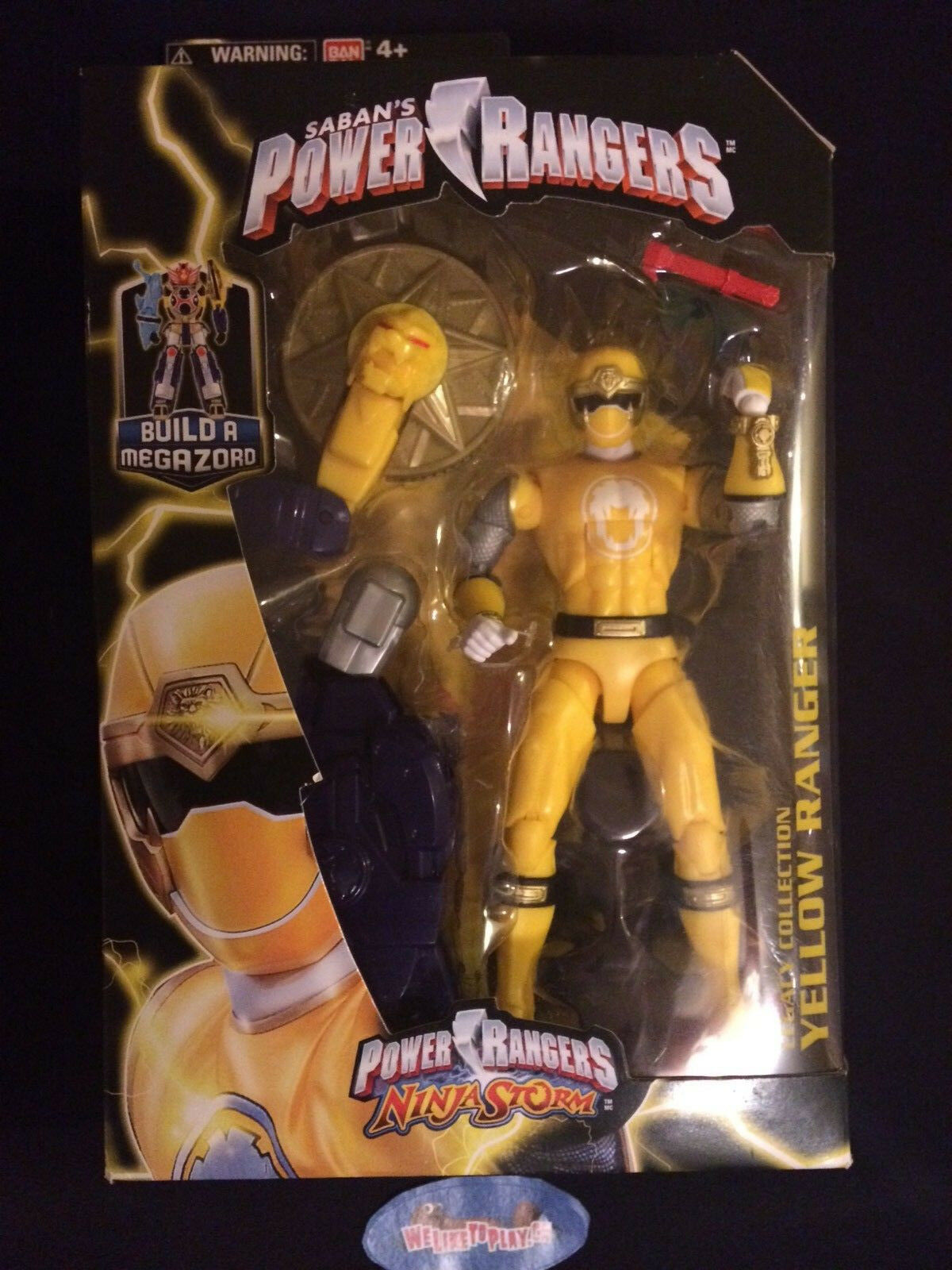 Power Rangers Legacy Collection Ninja Storm Gelb Ranger Figure NEW Megazord