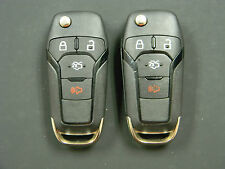 LOT OF 2 FORD KEYLESS ENTRY  REMOTE FOB OEM WITH TRUNK N5F-A08TAA