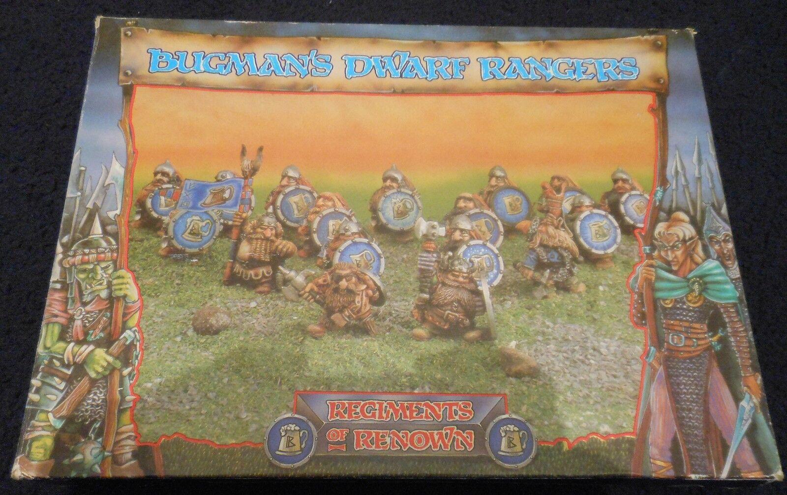 1986 bugmans Dwarf Rangers regimientos de renombre Bugman'S 81094 Brewer 0312 Ejército