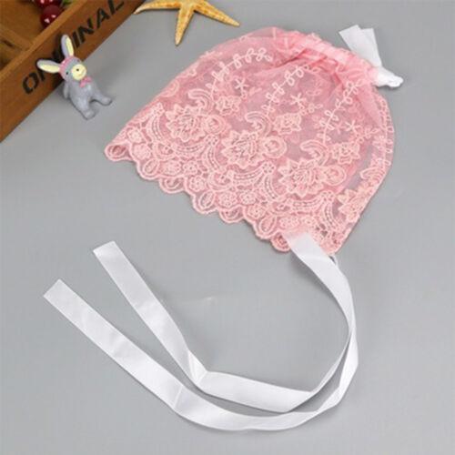 Practical Baby Lace Hat Baby Summer Cap Photography Props Bonnet Photo Props Hat