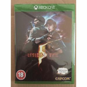 Resident-EVIL-5-HD-REMAKE-inc-tutti-i-DLC-Xbox-NUOVO-E-One-SIGILLATO