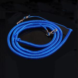 5m Avoid Rod Loss Elastic Rope Fishing Hook Telescopic Rope Protection Tool x 1
