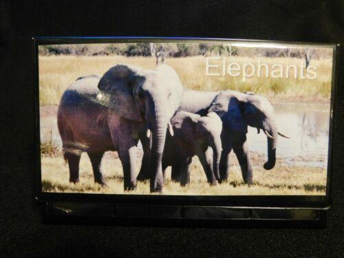 Elongated Pressed Penny Souvenir Album Book . Elephants