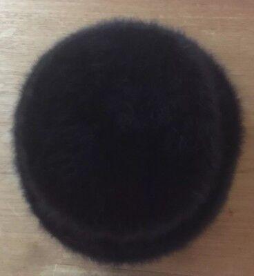 Damart Donna Pelo Di Coniglio Nero Bowler Cappello Invernale-mostra Il Titolo Originale