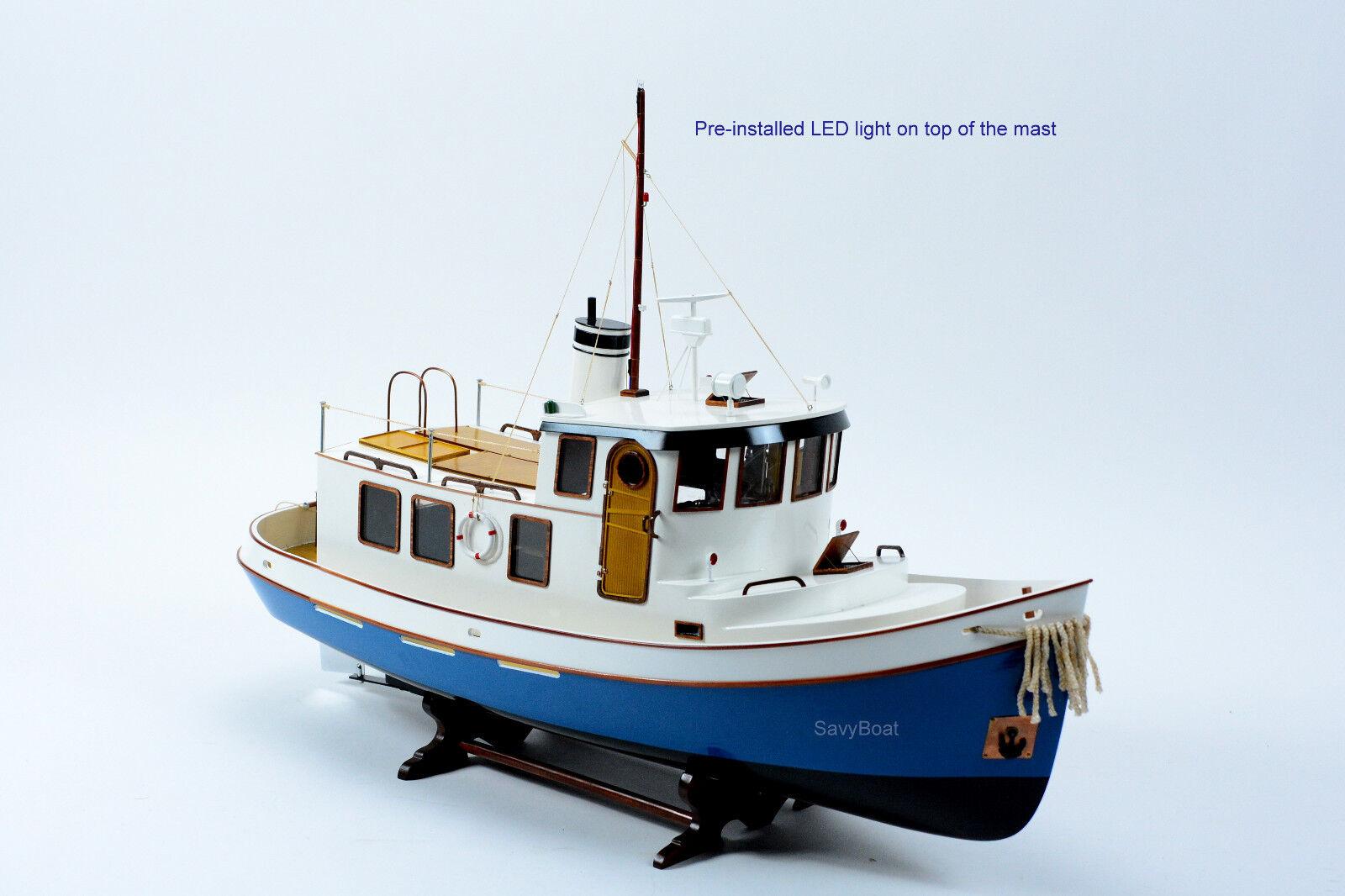 Lord Nelson Victory Tugboat 28  -  Hefatto Wooden Boat modello - RC Converdeible  al prezzo più basso