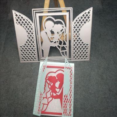 DIY Flower Dies Metal Cutting Stencil Scrapbooking Embossing Paper Card Cr UKWJ