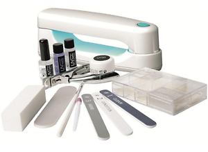 gel and uv lamp nails Manicure kit