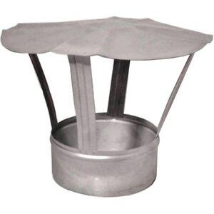 Galvanised-Steel-WFP-Cowl-Flue-Liner-Cap-Ducting-Stove-Pipe-Rain-Cover-dpo32