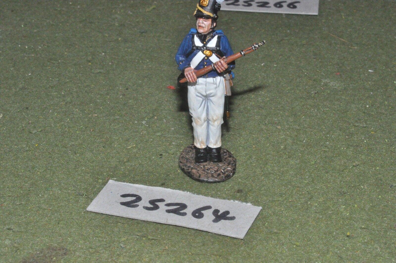 65mm napoleonic   american - john jenkins 1812 1 figure - art (25264)