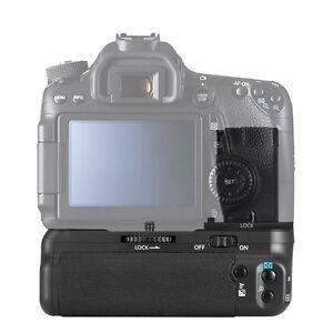 Vertical Battery Grip Power Pack de reemplazo Soporte para Canon EOS 70D//80D LP-E6